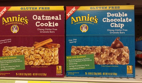 Annie's Homegrown Chewy Cluten Free Granola Bars