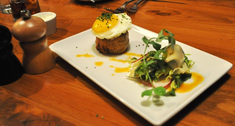 Pig Cheeks -  The River and Rail Restaurant, Roanoke, Va., April 2014 #OldSchoolVA #LoveVA