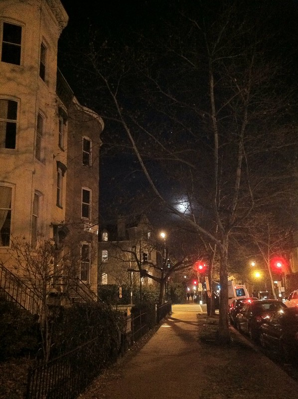 Moon over Q & 13th