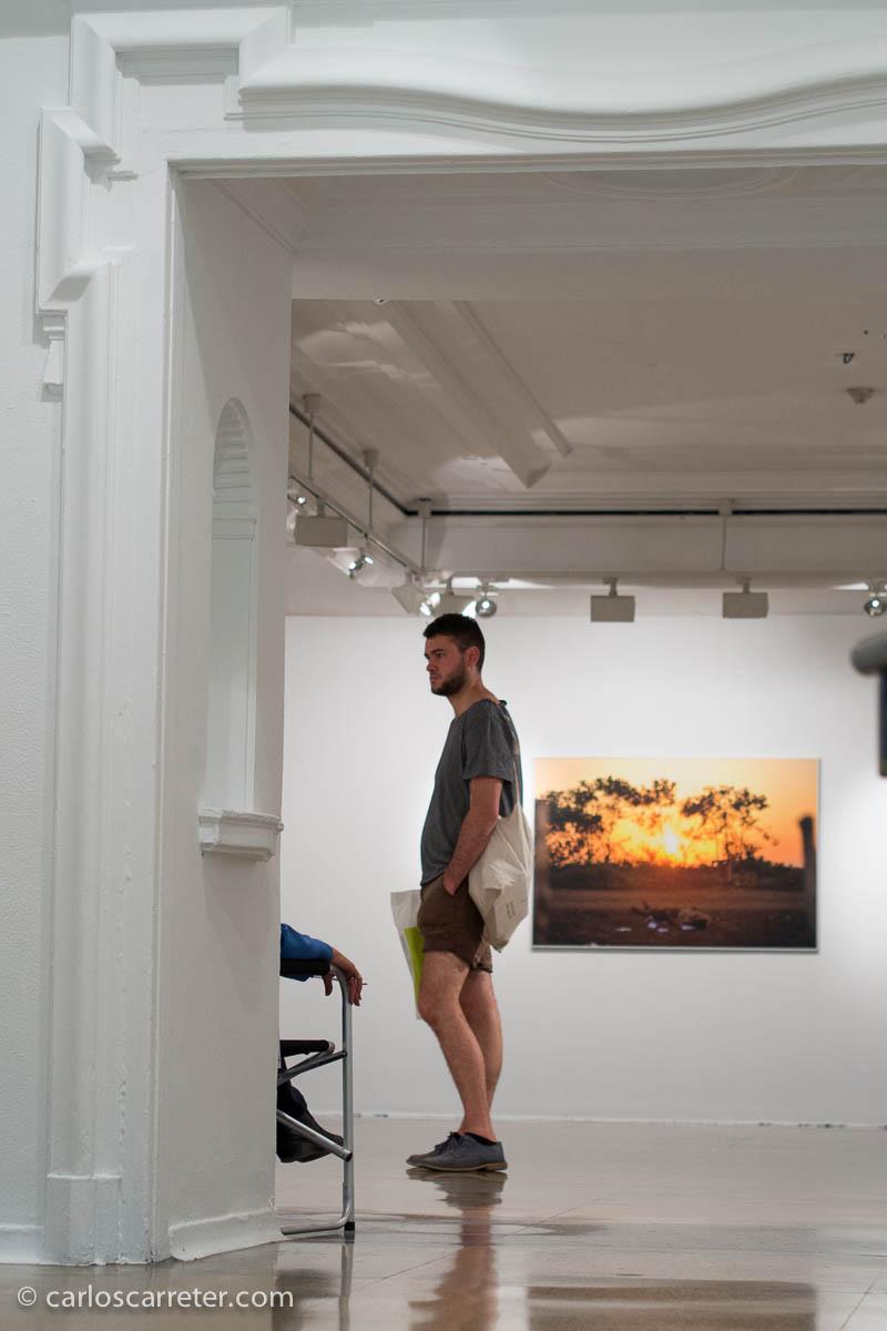 Fernando Brito en el Círculo de Bellas Artes