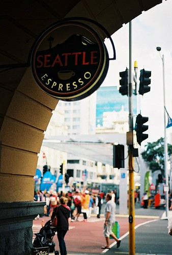 Seattle coffee in Auckland, New Zealand