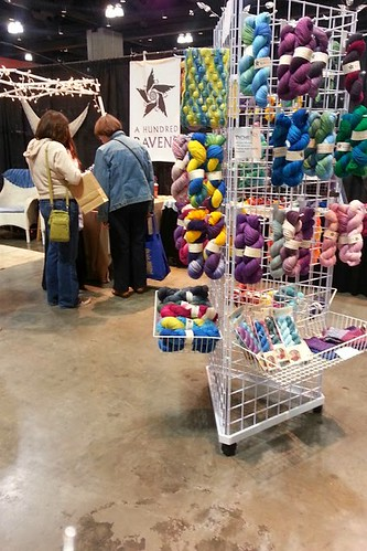 kates booth at stitches east 2013