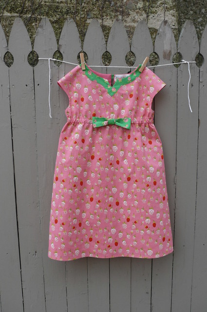 Oliver + S Roller Skate Dress by Ginger Makes