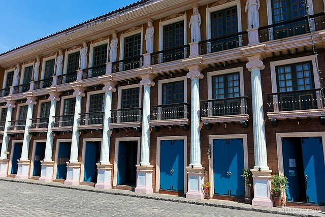 Las Casas Filipinas de Acuzar guest rooms' beautiful facade