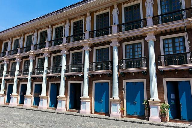 Las Casas Filipinas de Acuzar guest rooms' beautiful facade