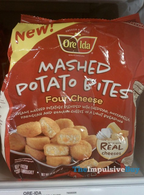 Ore-Ida Four Cheese Mashed Potato Bites