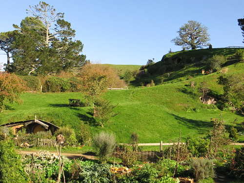 hobbiton, from by the vegetable patch