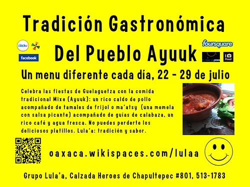 Tradición Gastronómica del Pueblo Ayuuk #oaxacatoday #ipw3 #guelaguetza