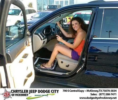 Thank you to Artan Krasniqi on the 2014 Jeep Grand Cherokee from David Walls and everyone at Dodge City of McKinney! by Dodge City McKinney Texas