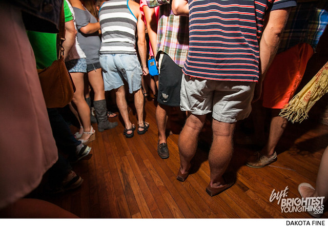 Gavin Holland brings his Shorts dance party to Sticky Rice in Washington, DC on September 6, 2013.