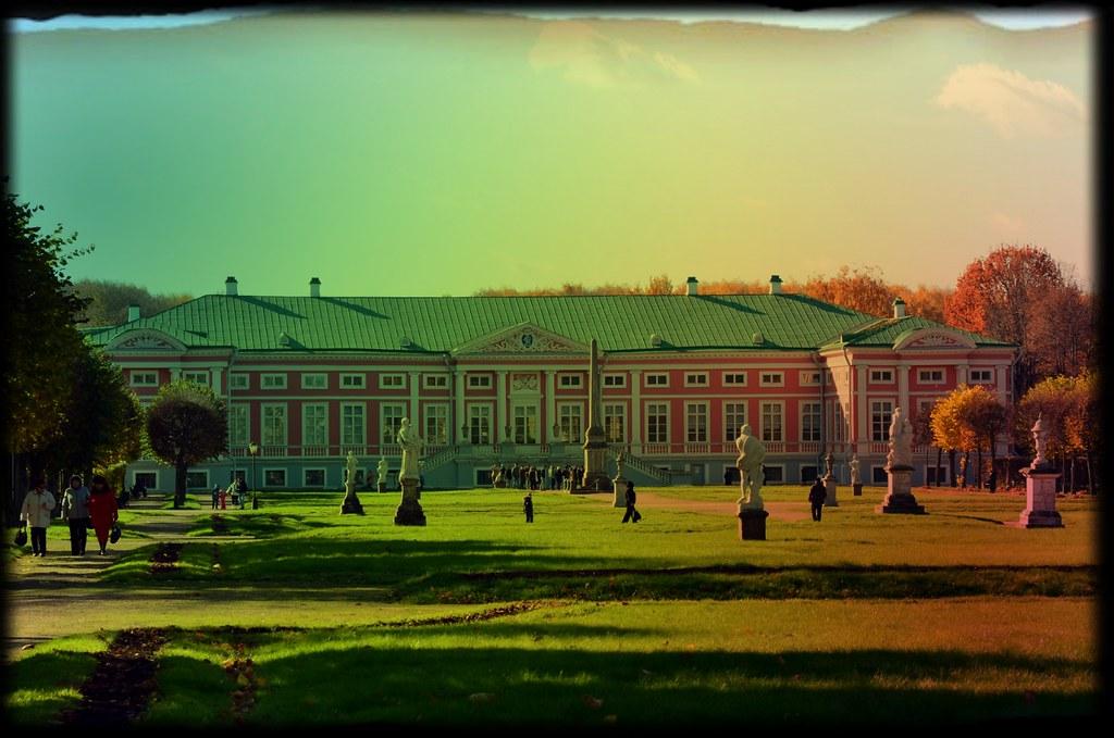 kuskovo park main building