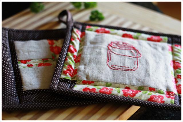 Jar Stitchery 3
