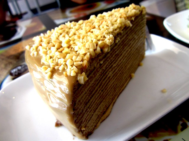 Coffee mille crepe