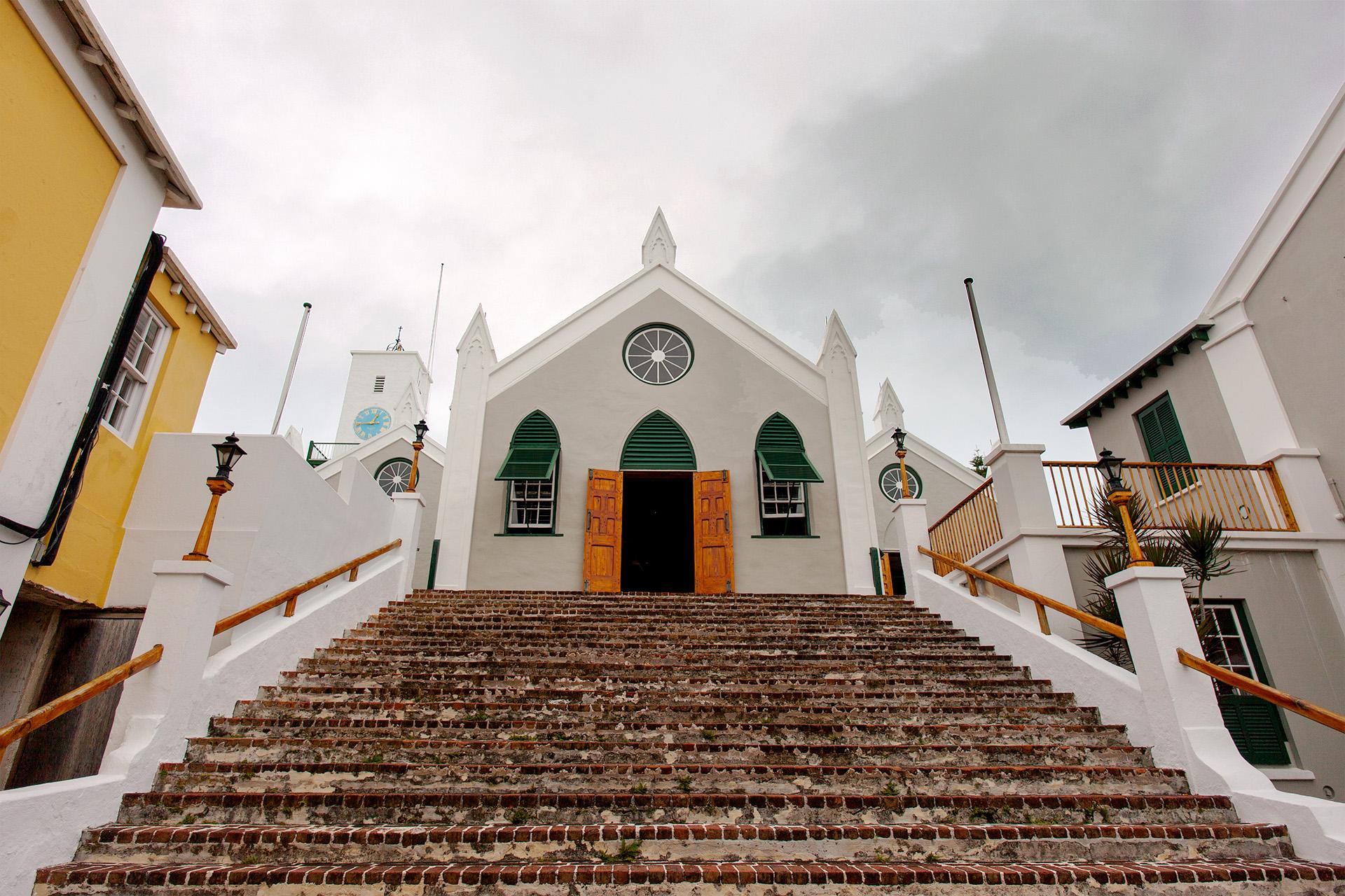 St Peters Church, Bermuda.