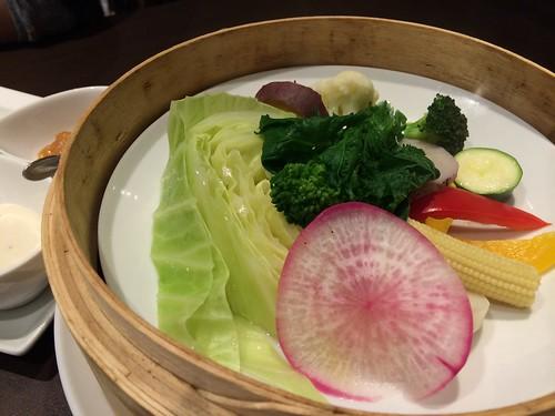 8種類 温菜スチームサラダ@渋谷KAIRI