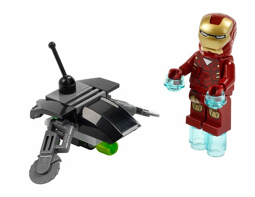 30167 Iron Man vs Fighting Drone 30167 oryginal picture