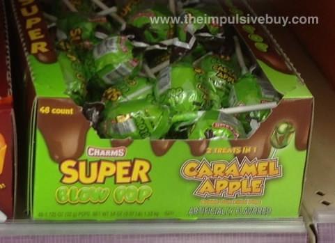Charms super blow pop Caramel Apple