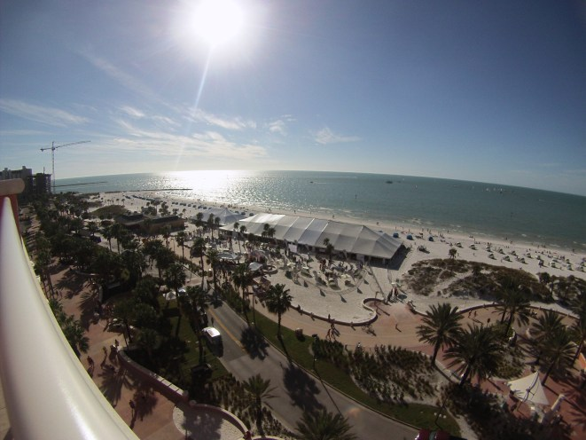 What a View! Clearwater Beach Uncorked, Food, Wine & Beer Festival. Clearwater Beach, Florida, Feb. 7, 2015
