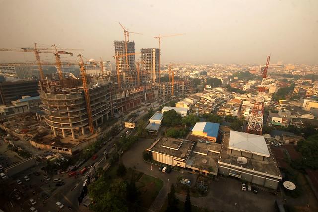 City View from JW Marriott Medan