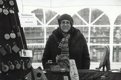Stalybridge Farmers' Market: stallholder portrait