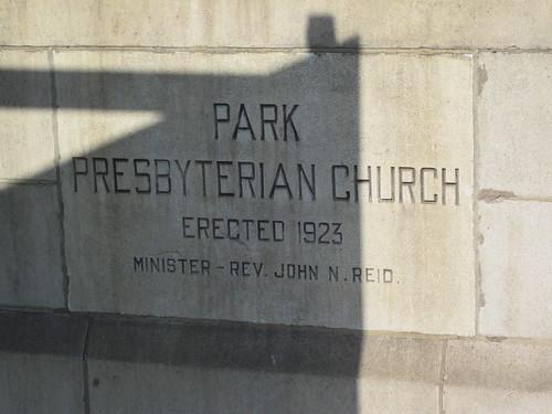 Park Presbyterian Church 1923, Middlesbrough