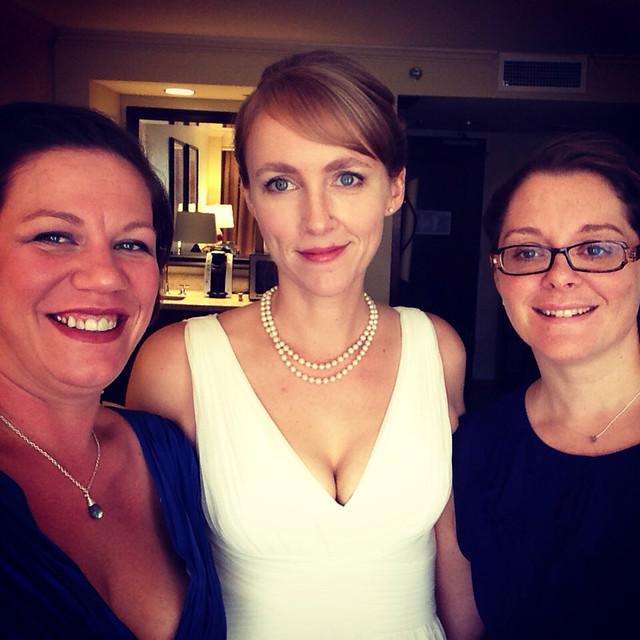 Claire, Me, Mel