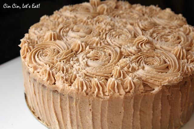 matcha chestnut cake_3