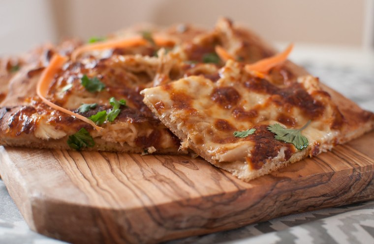 Thai Chicken Pizza 4