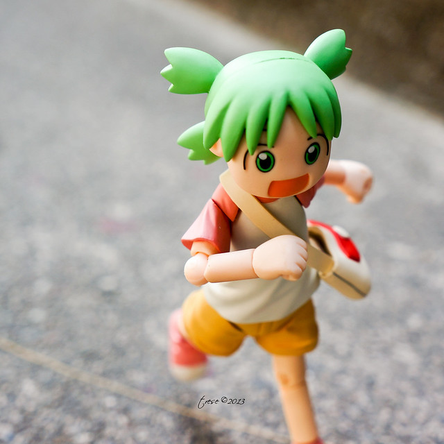 Revoltech Yotsuba on the run