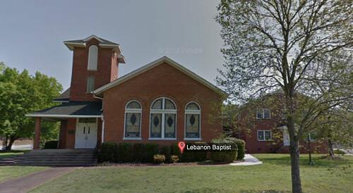 Lebanon Baptist from Streetview
