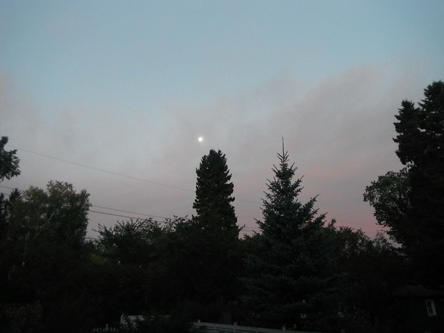 Moonset Sunrise Equinox Morning - Full Moon Sept 19 Photo Sept 21 Equinox Sept 22