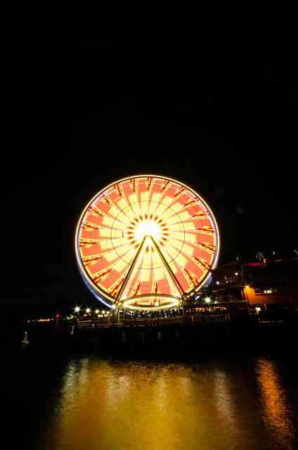 Seattle Great Wheel October 2013