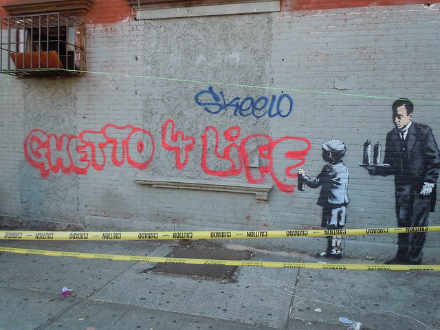 Banksy Ghetto 4 Life