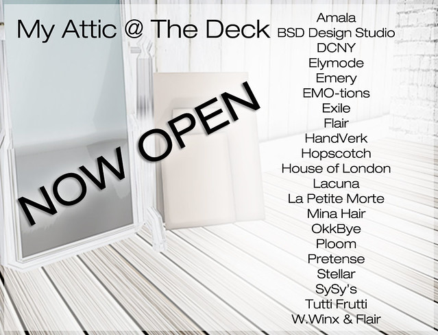 My Attic - June Edition - Now Open