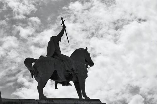 Equestrian Statue of King Saint Louis, Sacre Coeur