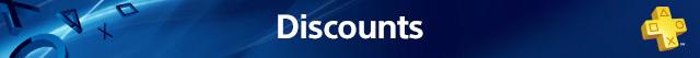 PlayStation Plus: Discounts