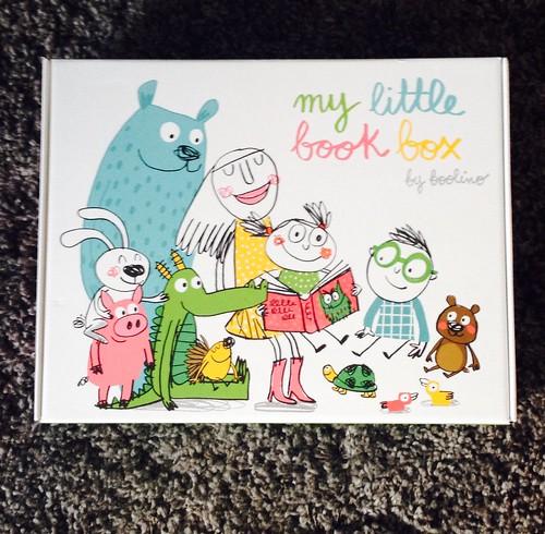 Detalle de la caja de My Little Book Box