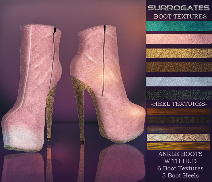 Surrogates - Ankle Boots II with HUD