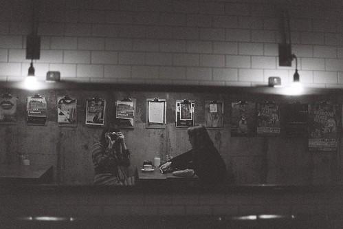 Reflection in Dublin café by Aoife B