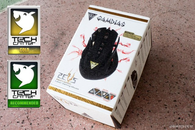 GAMDIAS ZEUS Esport Edition Laser Gaming Mouse 23