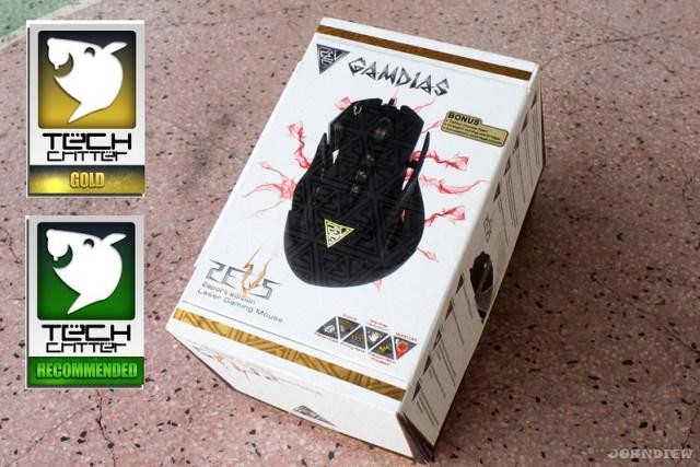 GAMDIAS ZEUS Esport Edition Laser Gaming Mouse 69