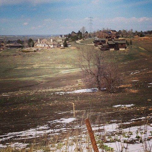 Hines with a view if Boulder #colorado by @MySoDotCom