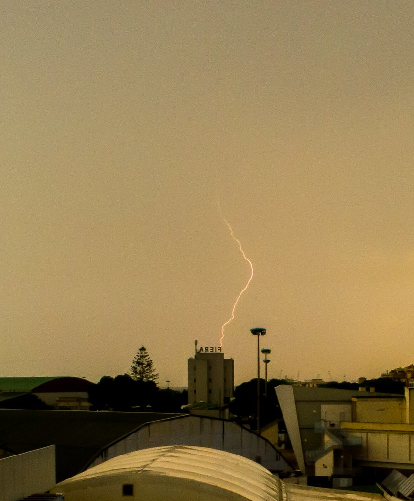Lightning Strike Cagliari