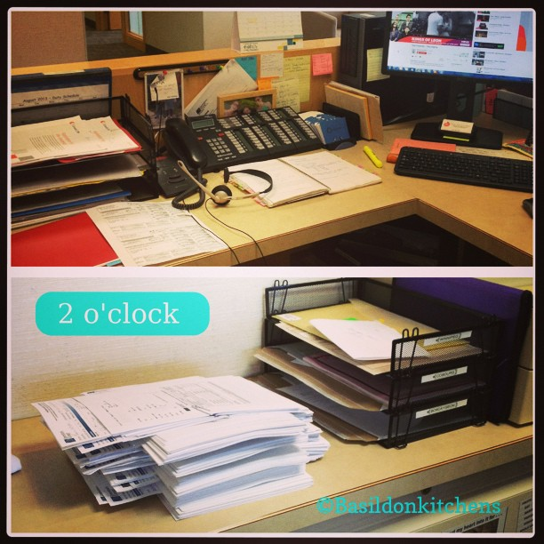Aug 9 - 2 o'clock {still lots to do at the office} #fmsphotoaday #office #work