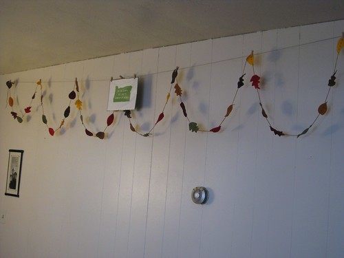 Hanging Fall Garland