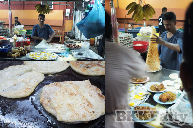abu mamak collage roti making