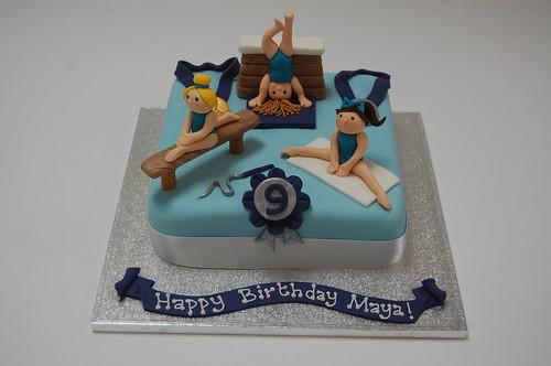Gymnastics Cake Beautiful Birthday Cakes