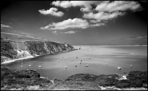 Alum Bay by Davidap2009