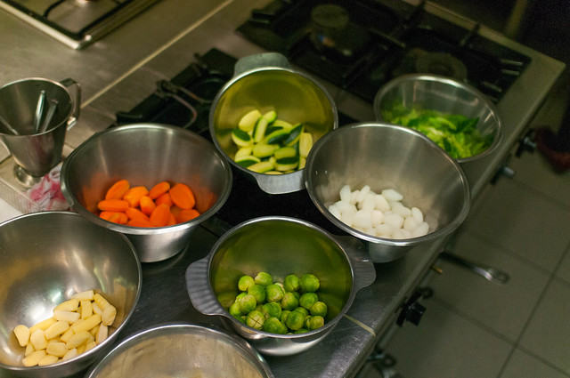Geblancheerde groenten
