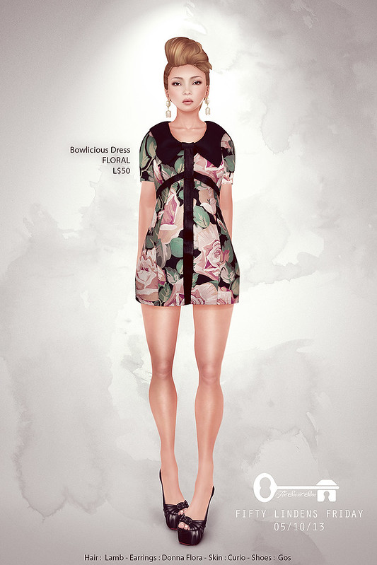 Bowlicious Dress Floral